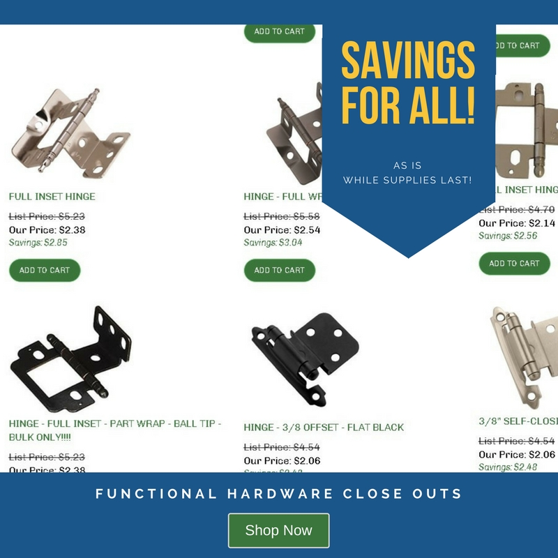 Functional Hardware Close Outs